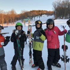 Ski au Mont-Rigaud 2