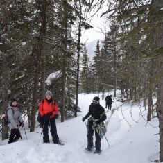 Winter adventure in Charlevoix of Collège Bourget